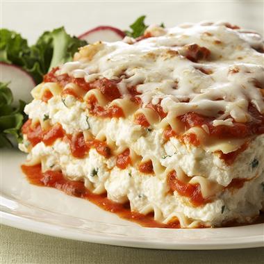 Charming Ricotta Cheese Lasagna