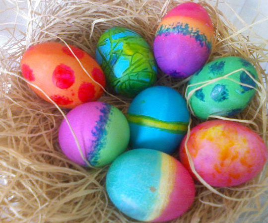 Can You Color A Hard Boil Egg With Food Color