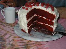 Barad Red Velvet Cake