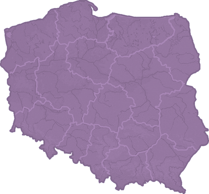 Map of Poland familiowa