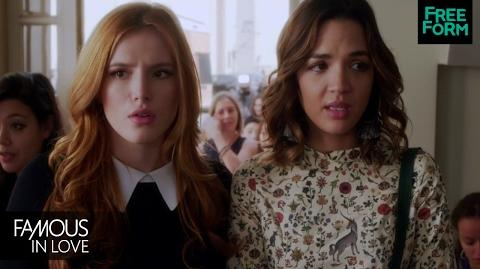 Famous In Love Season 1, Episode 1 Sneak Peek Paige and Cassie Go To Audition Freeform