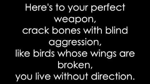 Perfect Weapon Black Veil Brides (lyrics)