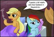 Applejack rainbow