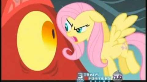 You shut your whore mouth when Fluttershy is talking! -ANGRY FACE- (FOR MY PAL)