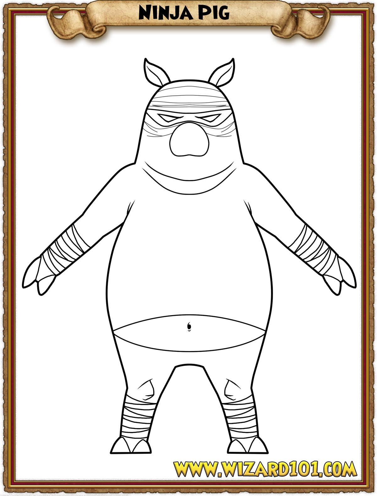 wizard101 printable coloring pages - photo#45