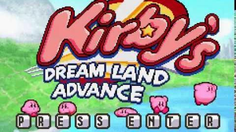 Kirby's Dream Land Advanced (fan game) PC Playthrough