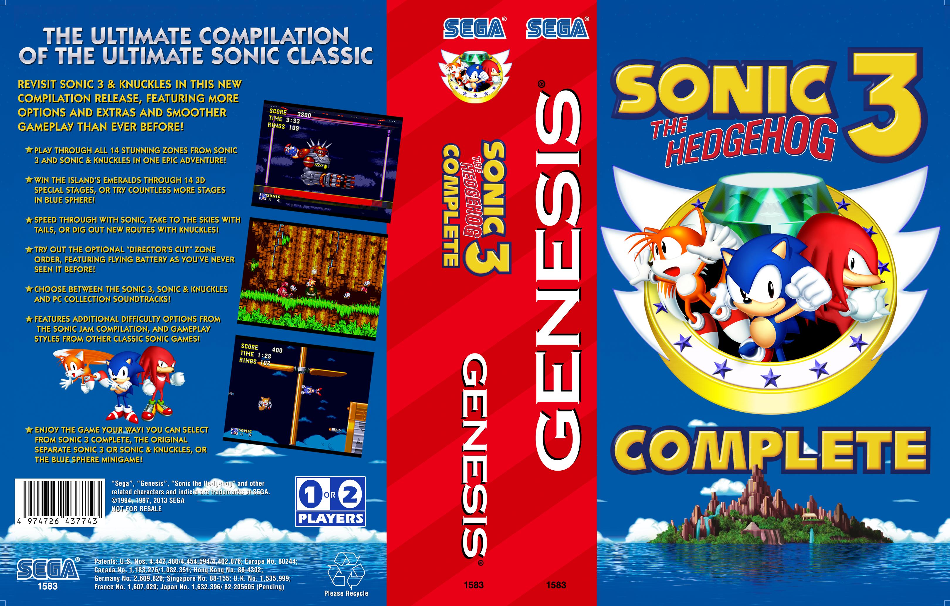 Sonic The Hedgehog 3 Complete Fan Games N Hacks Wiki Fandom