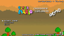 SuperMarioCrossoverExplorers BetaDemoTitle