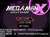 Mega Man X Nightshade PSX