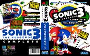 Sonic 3 Complete JPN Box Art