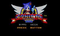 SonicCDSMS TitleScreen