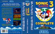 Sonic 3 Complete EUR Box Art