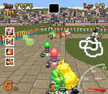 MarioKartBlazingWheels Gameplay1