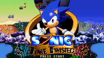 SonicTimeTwisted TitleScreen