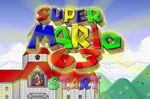SuperMario63 TitleScreen