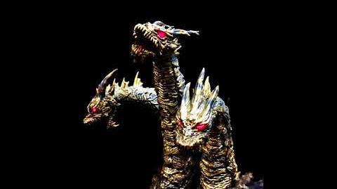 """""""Kaiser Souverän"""" - Godzilla Final Wars - Keizer Kaiser Ghidorah Appears Mash-Up Remix"""