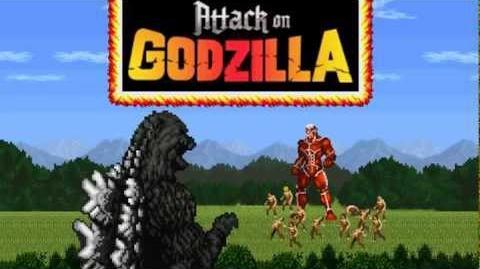 Attack on Godzilla Gameplay