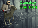 Tuesday the 30th
