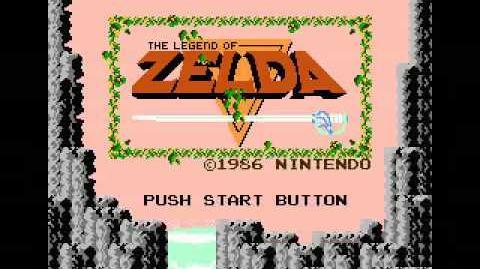 Legend of Zelda (NES) Intro