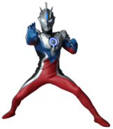 Ultraman orb emerium slugger suit render