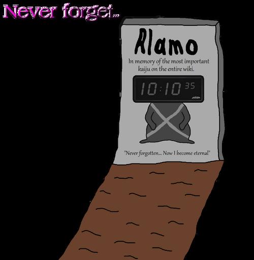 Alamo's Grave