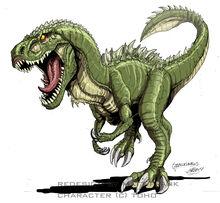 Godzilla neo godzillasaurus by kaijusamurai
