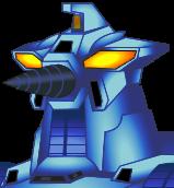 Blue MOGUERA's Head
