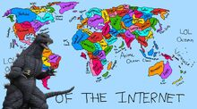 Godzilla vs internet