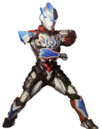 Ultraman orb lightning attacker suit render by zer0stylinx-db29nyl