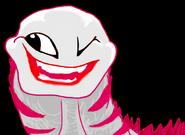 Jeffsaurus wink