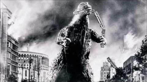 Godzilla Theme but backwards at half speed