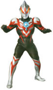Ultraman Orb Thunder Breastar render 1