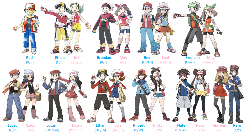 Image Pokemon X And Y Characters Namesvp Pok Mon Thread