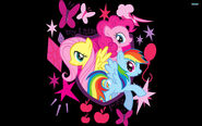 Fluttershy-pinkie-pie-and-rainbow-dash-cartoon