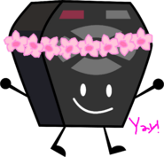 Remote with flower crown