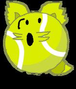 Tennis ball fox