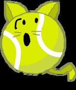Cat Tennis Ball