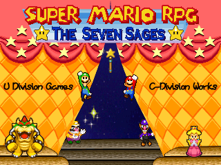 super mario rpg the seven sages fangame wiki fandom powered by