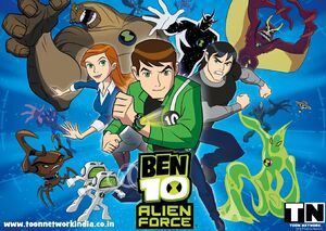 Ben 10 Alien Force HINDI Episodes www toonnetworkindia co in