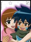 Ikuto and Chika-Innocent Love