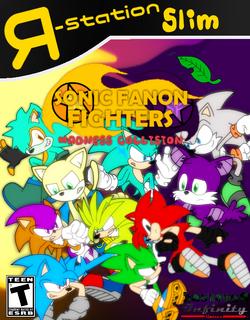 Sonic Fanon Fighters Madness Collision - Cover