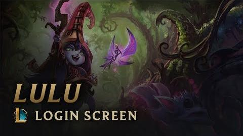 Lulu, the Fae Sorceress Login Screen - League of Legends
