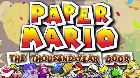 Doopliss Battle - Paper Mario The Thousand-Year Door