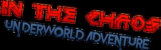 In the Chaos Underworld Adventure logo