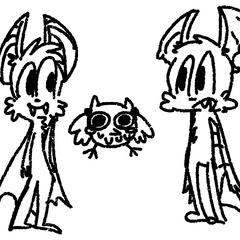 Batty junto a <a href=