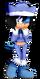 FlowerShy the Hedgehog
