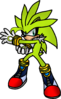 Speed the Hedgehog (SF Star Fighters)