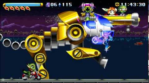 Freedom Planet OST Boss 1