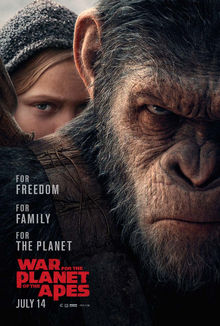 File:War for the Planet of the Apes poster.jpg