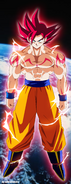 The super saiyan god by salvamakoto-d5y6n0q